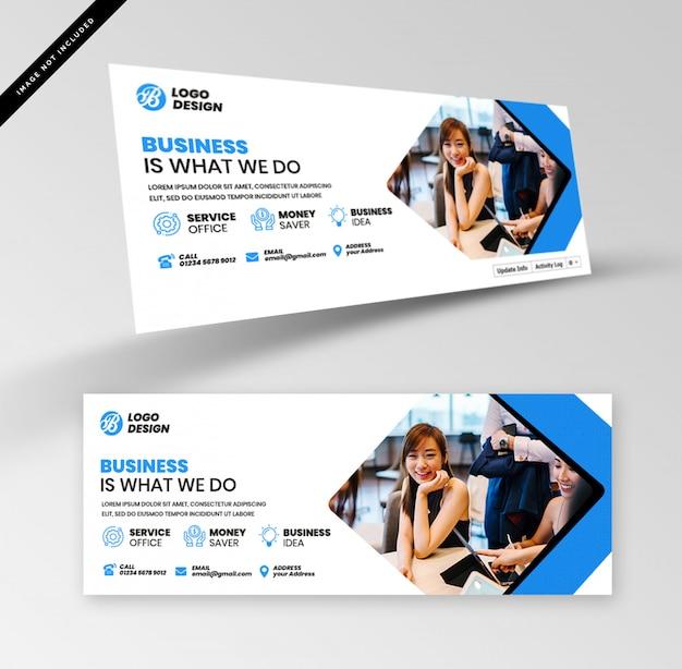 Banner de negócios Psd Premium