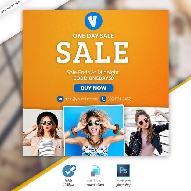 Banners sociais de marketing empresarial Psd Premium