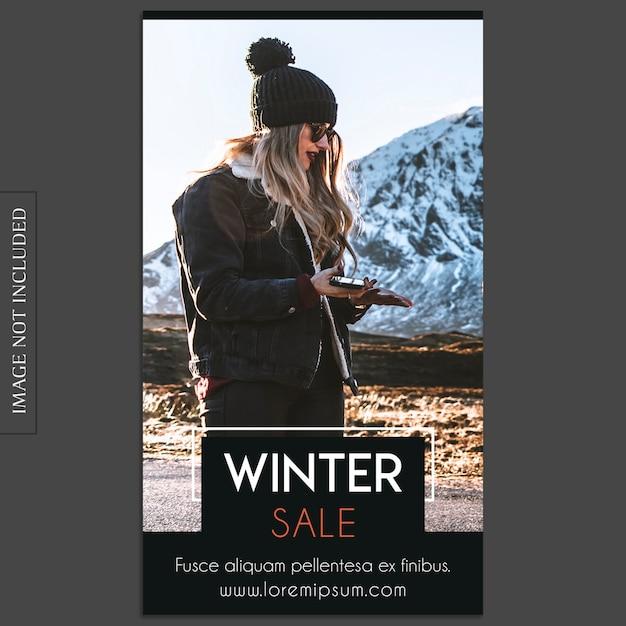 Básico, criativo, moderno mockup de foto e modelo de história do instagram para perfil de mídia social Psd Premium