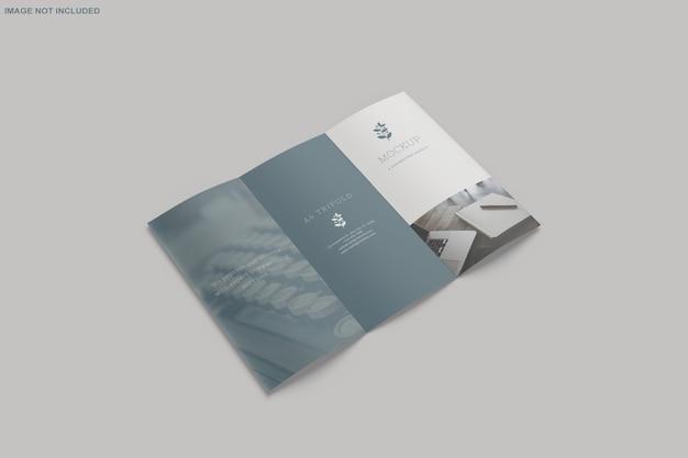 Brochura trifold mockup Psd Premium