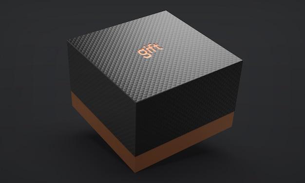Caixa de presente de luxo Psd Premium