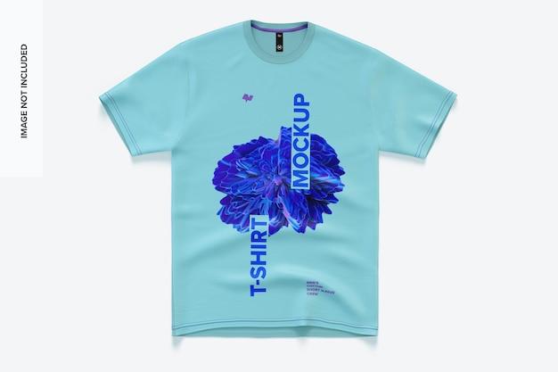 Camiseta masculina de manga curta de algodão Psd Premium
