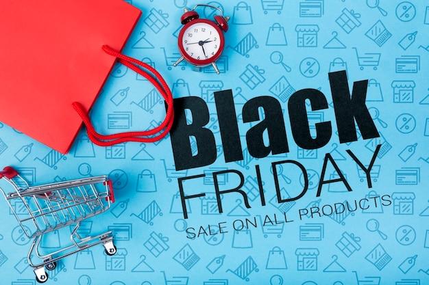 Campanha on-line do anúncio de sexta-feira negra Psd grátis