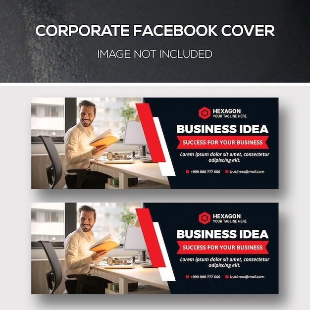Capa corporativa do facebook Psd Premium