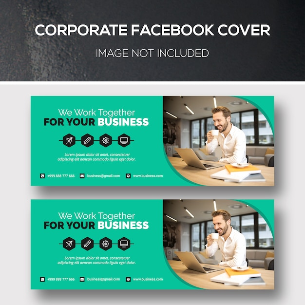 Capa corporativa do facebook Psd Premium