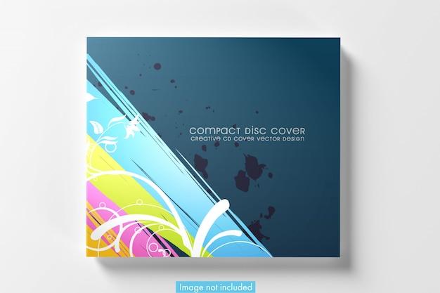 Capa de cd simples Psd grátis