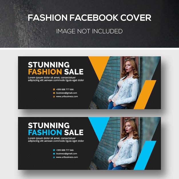 Capa para facebook de moda Psd Premium