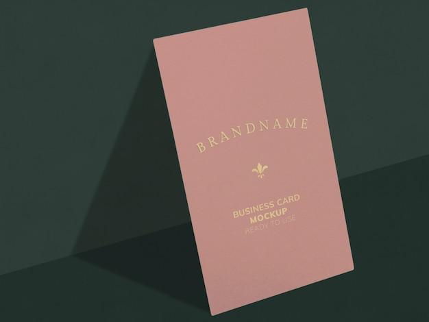 Cartão cor-de-rosa Psd grátis