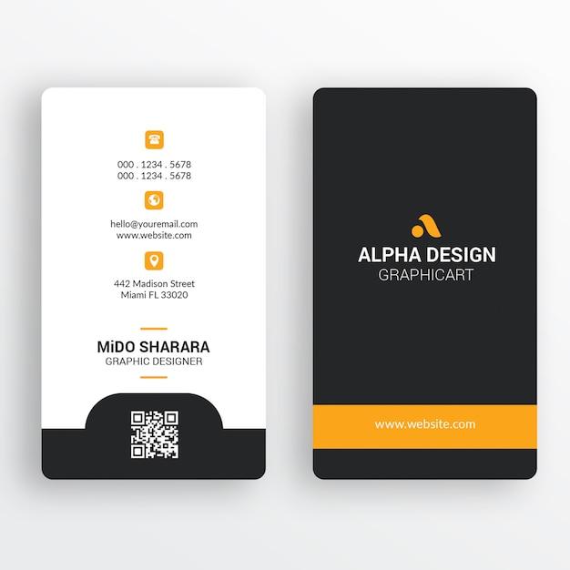 Cartão corporativo Psd Premium