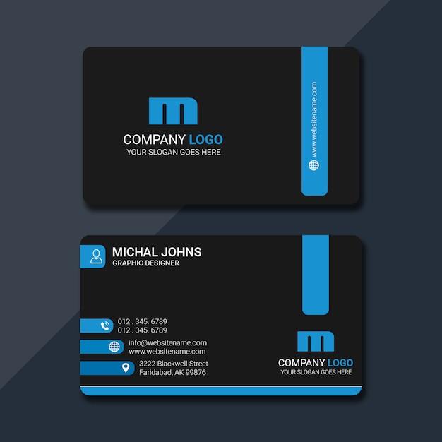 Cartão criativo Psd Premium