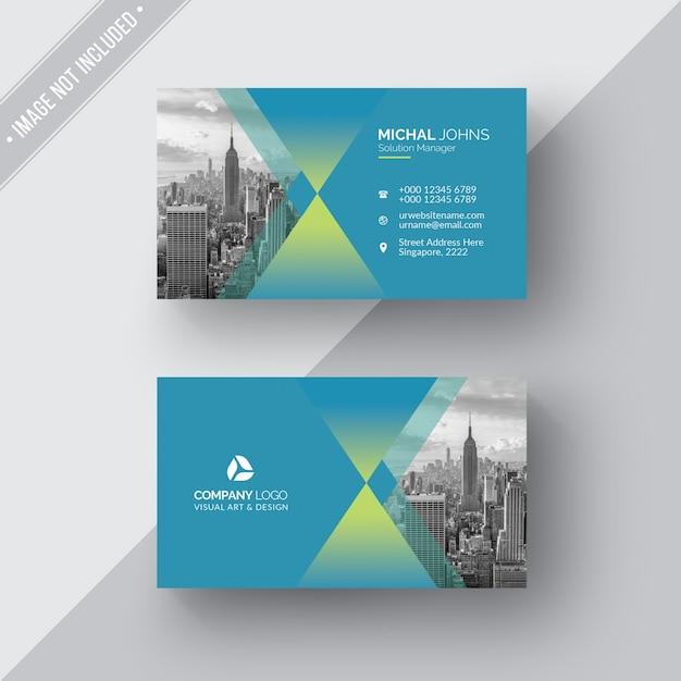 Cartão de visita criativo Psd grátis