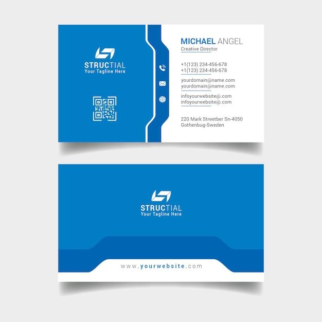 Cartão de visitas Psd Premium