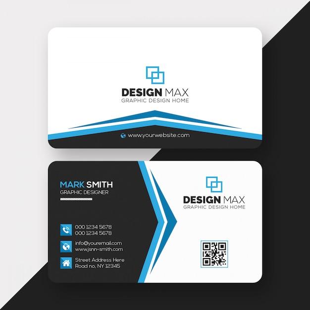 Cartão profissional Psd Premium