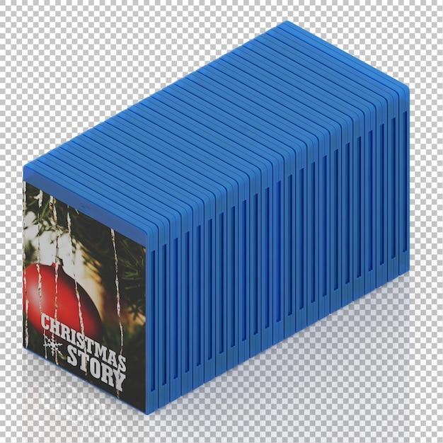 Cd dvd isométrico Psd Premium
