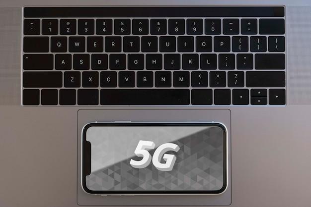 Conexão wifi de 5g para dispositivos eletrônicos Psd grátis