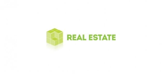 D logotipo modelo para o setor imobiliário Psd grátis