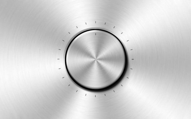 De material psd botão metálico Psd grátis