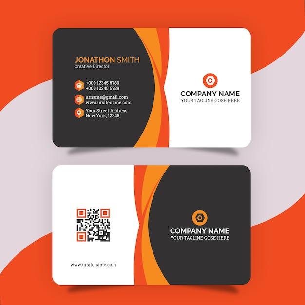 Design de cartão de visita criativo Psd Premium