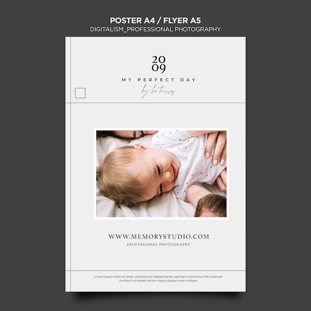 Design de folheto de fotografia profissional Psd grátis