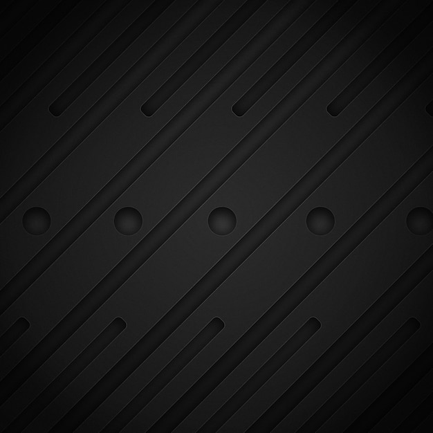 Design de fundo escuro Psd grátis