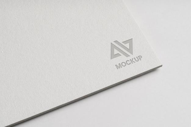 Design de logotipo mock-up para empresas Psd grátis