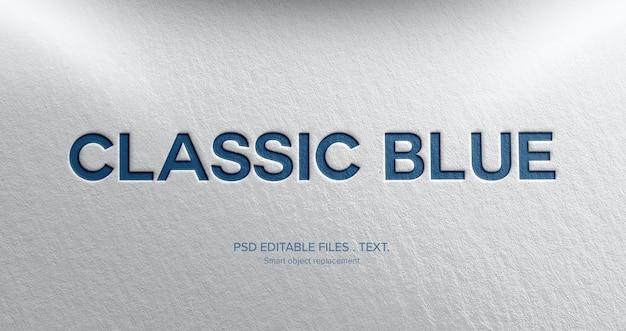 Efeito de estilo de texto 3d forte Psd Premium