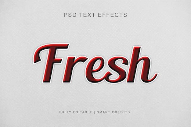 Efeito de texto editável moderno estilo gráfico Psd Premium