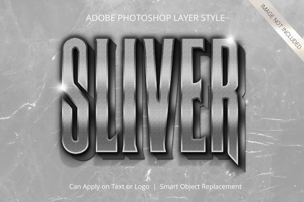 Efeito de texto no estilo de camada do adobe photoshop Psd Premium