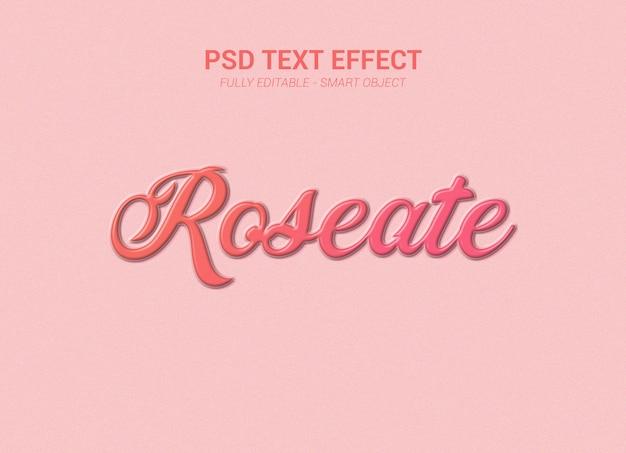 Efeito de texto psd Psd Premium