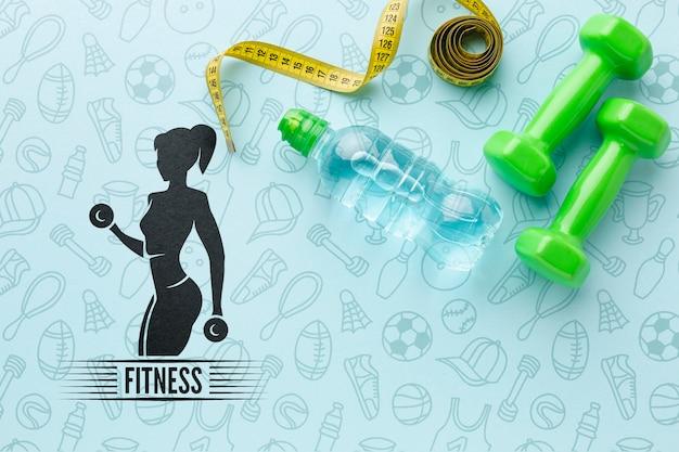 Equipamento específico para aulas de fitness Psd grátis