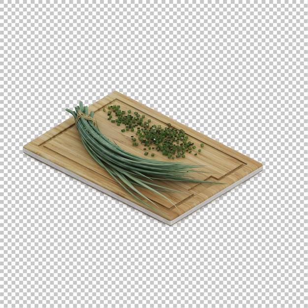 Ervas de cozinha isométrica Psd Premium