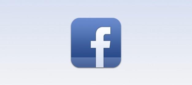 Facebook ios ícone psd Psd grátis