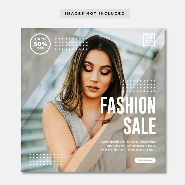 Fashion sale instagram Psd Premium