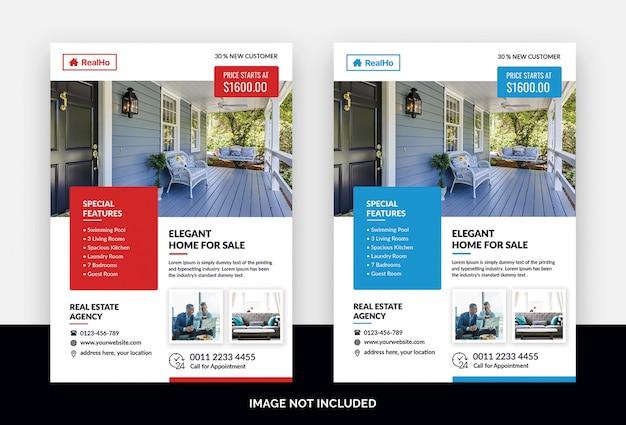 Folheto imobiliário Psd Premium