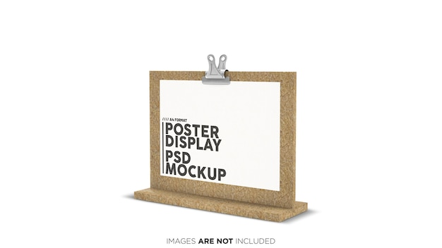 Formato horizontal formato de exibição horizontal psd mockup Psd Premium