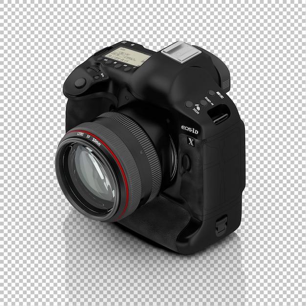 Fotocamera isométrica Psd Premium