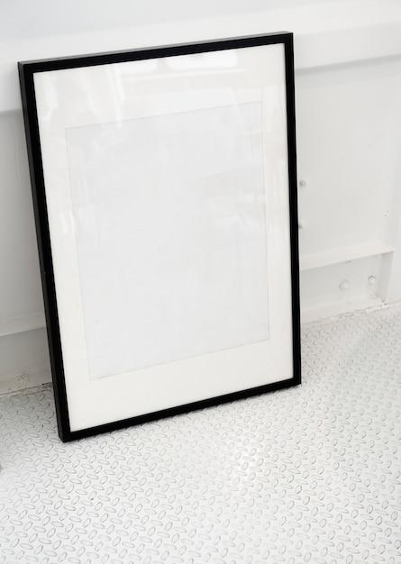 Frame da foto do espaço de design Psd grátis