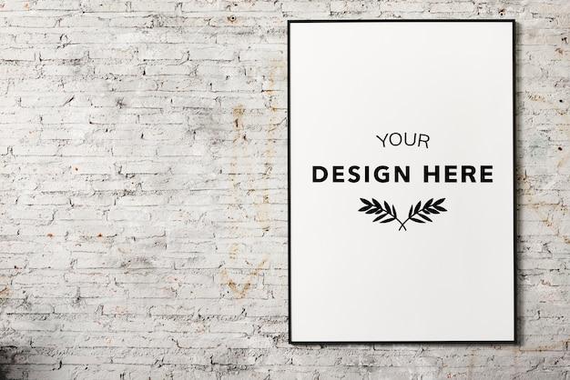 Frame da foto do espaço de design Psd Premium