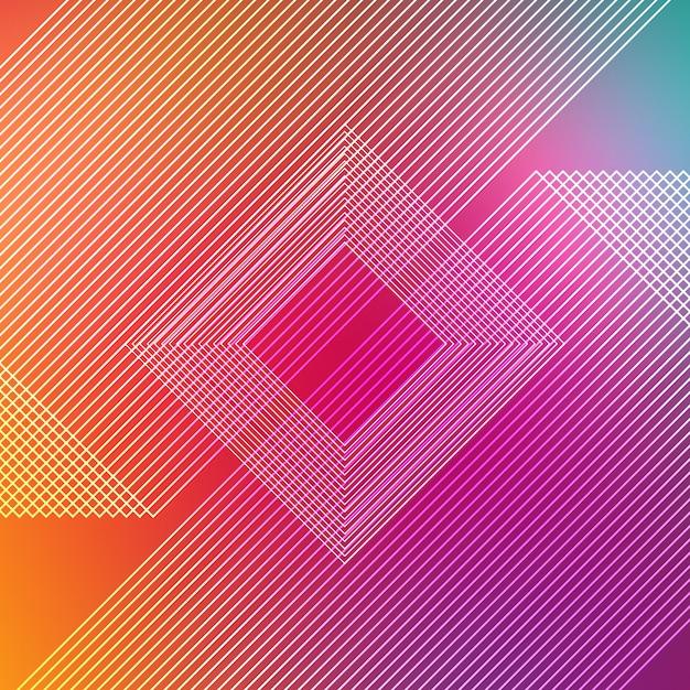 Fundo de listras multicoloridas Psd grátis