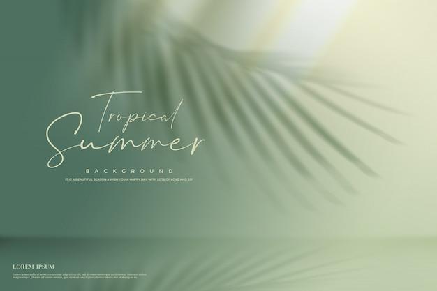 Fundo de natureza verão Psd Premium