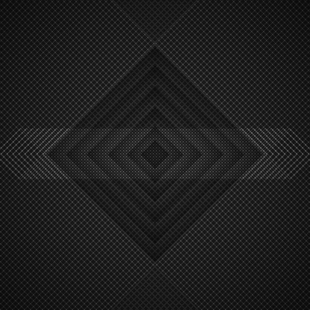 Fundo de rhombus escuro Psd grátis