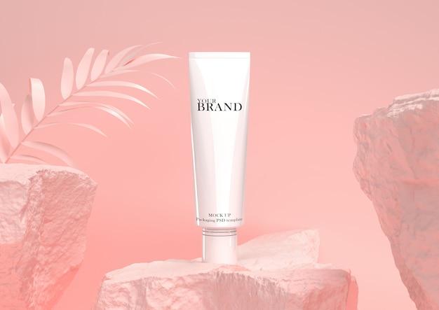 Hidratante de cuidados com a pele premium cosméticos. Psd Premium