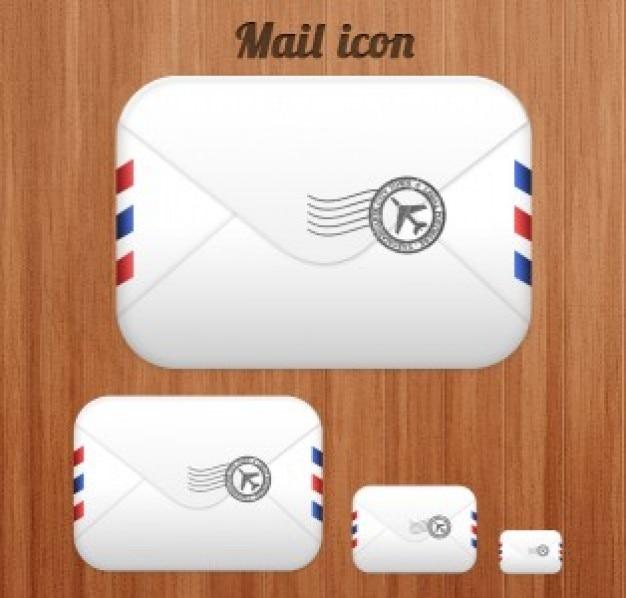 Ícone de email Psd grátis