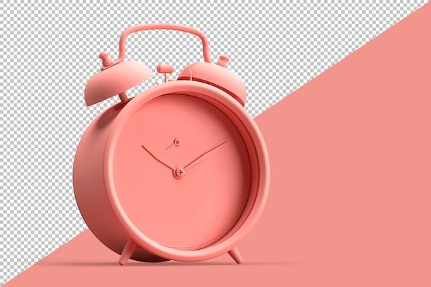 Ilustração minimalista de despertador vintage Psd Premium