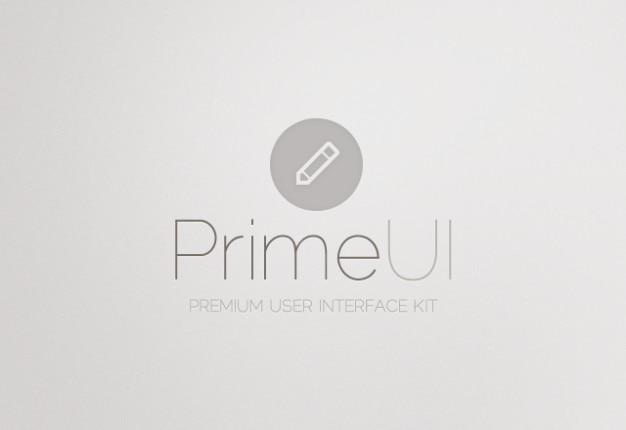 Interface de usuário kit de material psd Psd grátis