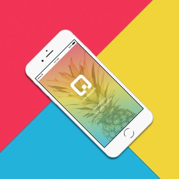 Iphone mock up design Psd grátis