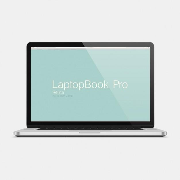 Laptop mock up projeto Psd grátis