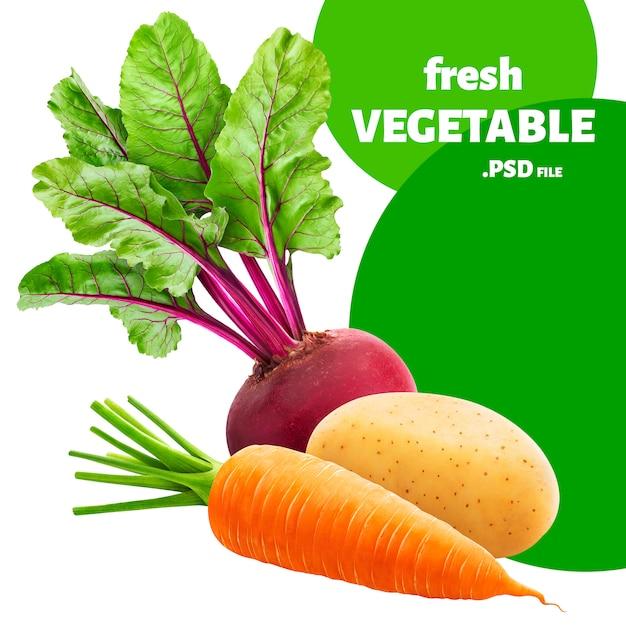 Legumes isolados Psd Premium