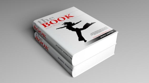 Livro de capa dura mock up Psd Premium