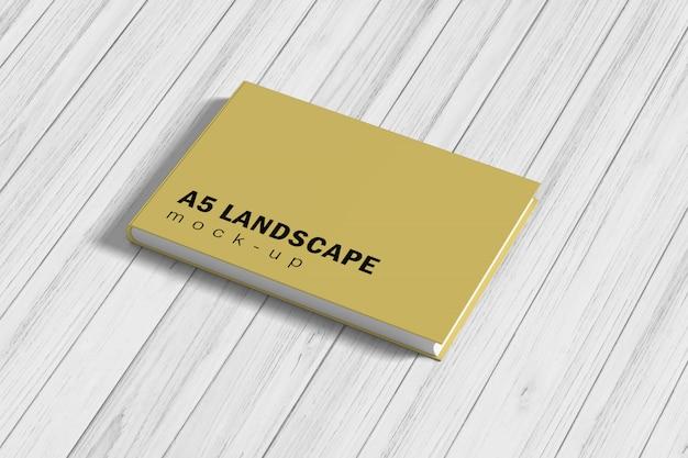 Livro paisagem Psd Premium